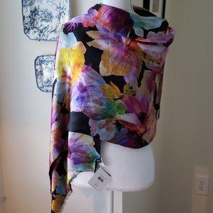 Echo 100% silk scarf/shawl NWT